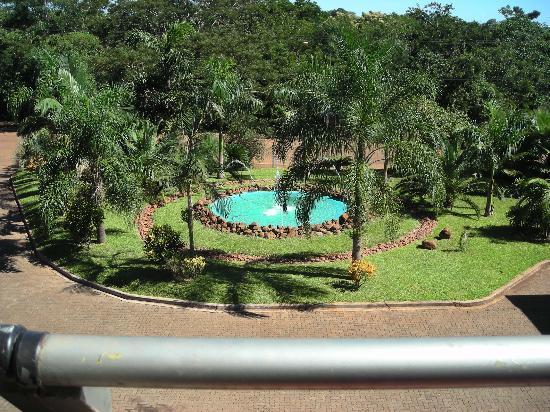 Amerian Portal del Iguazu: vista desde el balcon lado selva