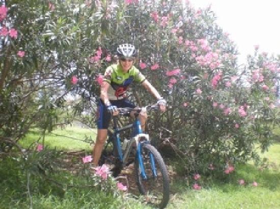 Tri-Sport Eco Tours: Riding through Happy Bay.