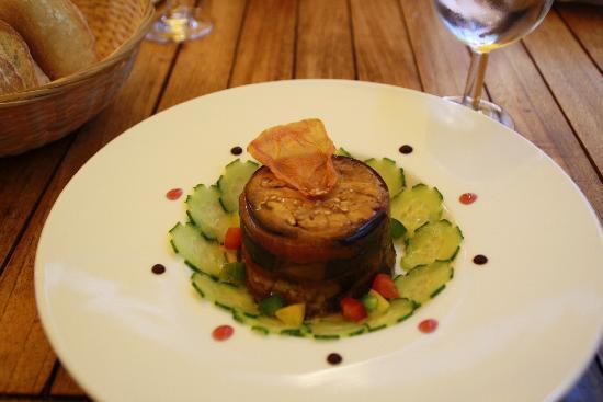 Restaurant La Marquiere: Vegetable terine