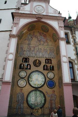 Astronomical Clock : The clock