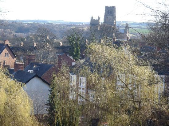 Farnley Tower: View from our room in the morning