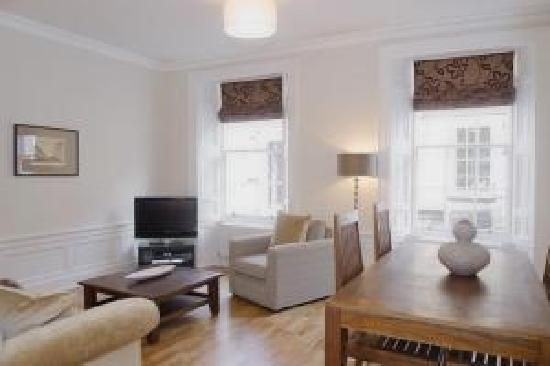 Young Street Boutique Apartments: Living Room