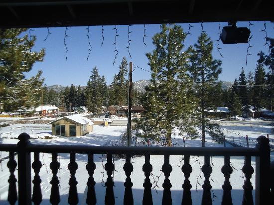 Wolf Creek Resort: view from our room