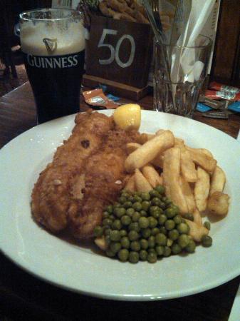 Masons Arms: Large Fish & Chips