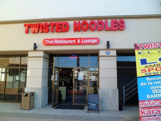 Twisted Noodles: beautiful entrance