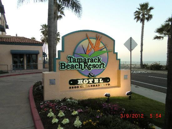 Tamarack Beach Resort and Hotel: Overlooking the beautiful Pacific Ocean