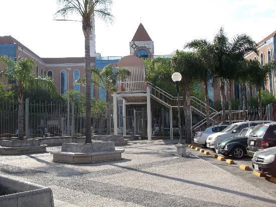 Hotel Antarisuite Cintermex Antaris Visto Desde Parque Fundidora