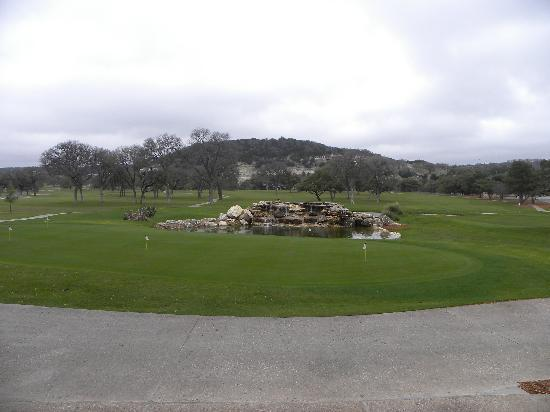 Tapatio Springs Hill Country Resort: View from the dining room
