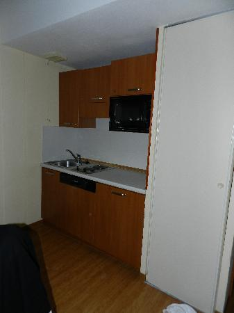 Inter-Hotel Residence Sea Side Park : Kitchenette à 16€/jour