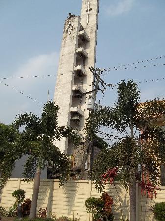 Antipolo Church: the belltower