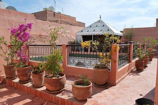 Riad Bousskri: Terrasse