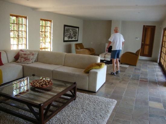 Mokolodi House: The TV lounge