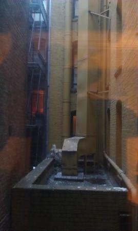 Adante Hotel: This was my bedroom view