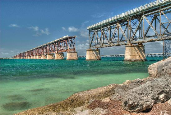 Bahia Honda State Park and Beach : Old Bridge