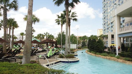 Hilton Orlando Bonnet Creek: Lazy river.