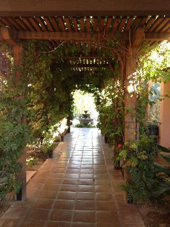 Hotel California: Lovely entrance