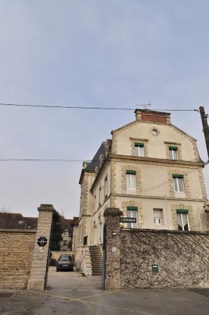 La Villa Andry : Façade de l'hôtel