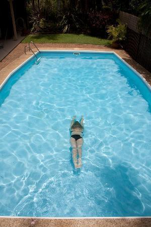Byron Motor Lodge Motel : Enjoy a dip in the pool