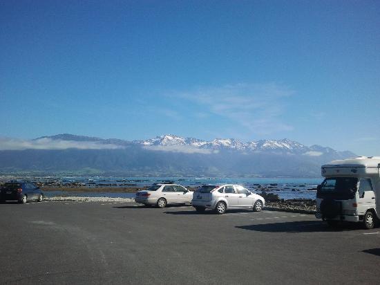The Fairways: Snow capped mountains