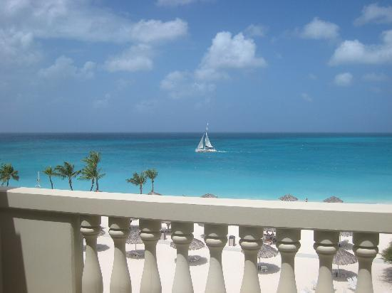 Bucuti & Tara Beach Resort Aruba: Beach view from Tara Suites Penthouse