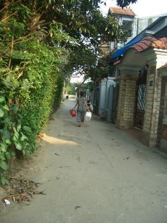 HueNino Hotel: 歩いて1分の散歩
