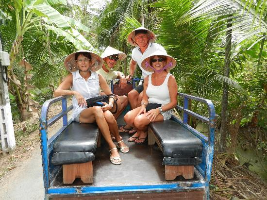 Mango Cruises: Our transport into the depths of the Mekong.