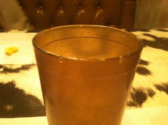 Casey's Cowtown Club: this was my cup, multiple chips in it.