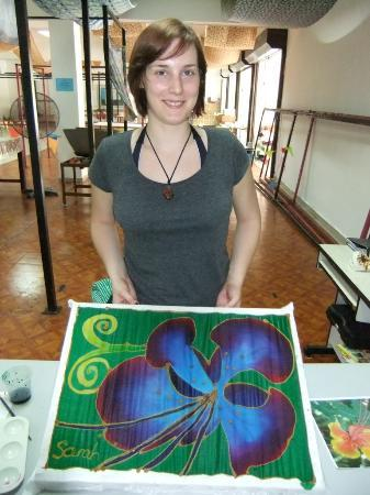 Central Melaka District, Μαλαισία: The artist and her work