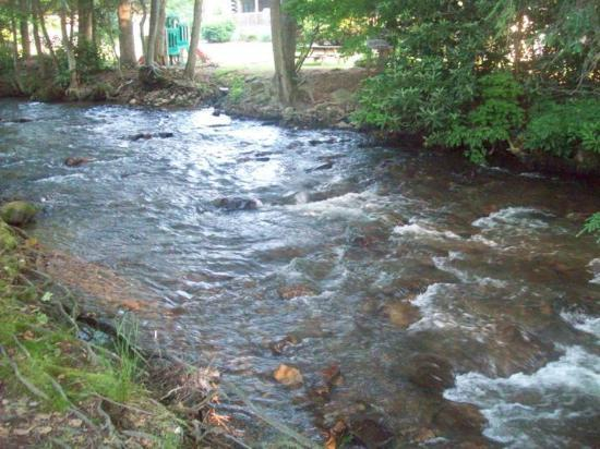 Jonathan Creek Inn and Villas: The beautiful creek running alongside the inn.