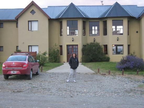 Hosteria Glaciares de la Patagonia: vista del hotel