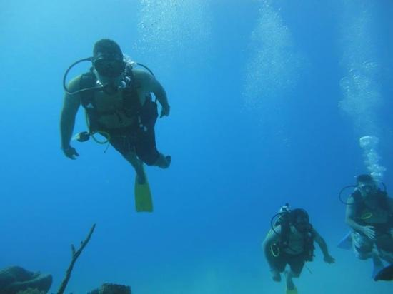 San Andres Divers: here I am!!!