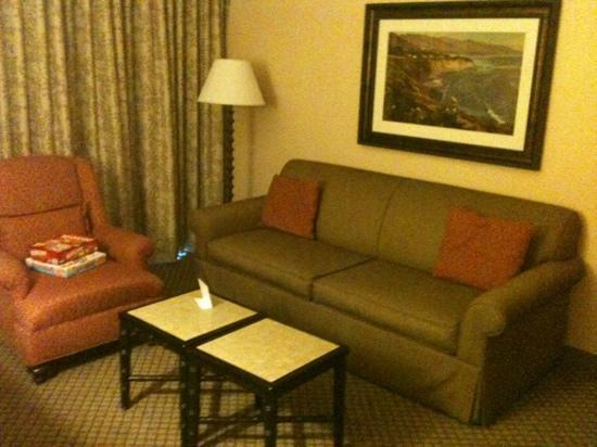Pacifica Suites Santa Barbara: living room area