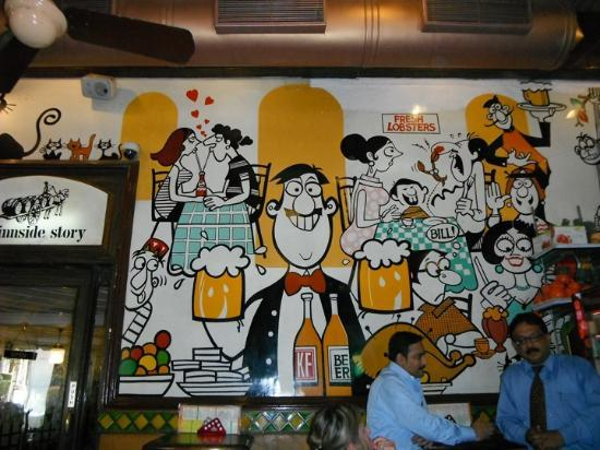 Cafe Mondegar Wall Painting