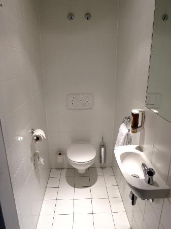 Hotel & Palais Strudlhof: toilet with tiny sink