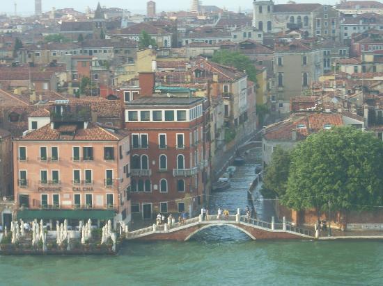 """Canal Grande: vista di Venezia a """"volo d'uccello"""""""