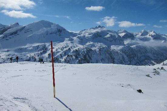 Hotel Steiner: Lovely ski-ing!