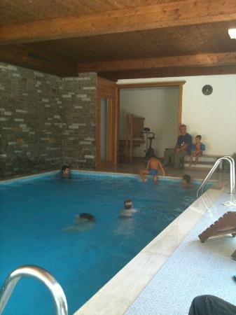 My Mountain Lodge: la piscina interna all'hotel