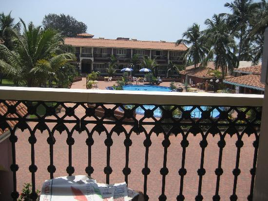 Hotel Goan Heritage: View from the balcony