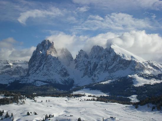 Val Gardena: Il Sassolungo ed il Sassopiatto, simboli della valle