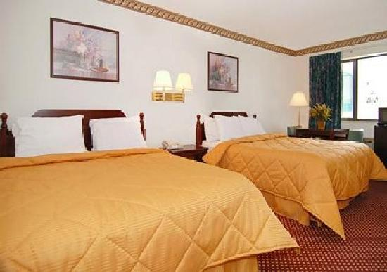 Econo Lodge Inn & Suites Southeast : Guest rooms with queen beds