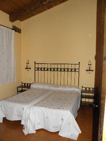 Hosteria Fontivieja: una de las habitaciones de la cabaña