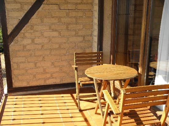 Hosteria Fontivieja: La terraza de la cabaña