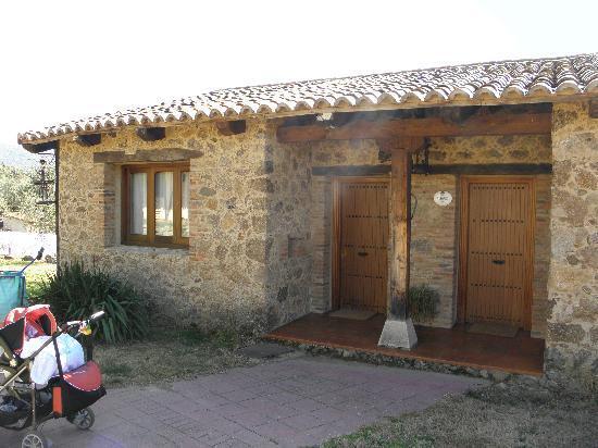 Hosteria Fontivieja: La cabaña por fuera