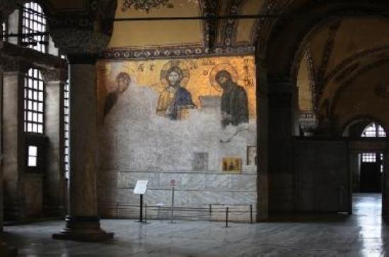 Hagia Sophia Deesis Mosaic in the Gallery