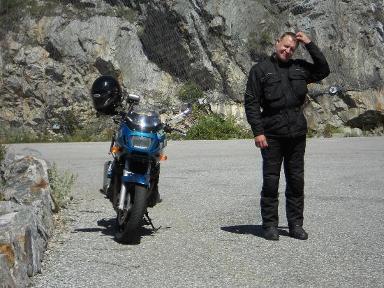 Schwarzwaldgasthof Grüner Baum: Bin viel mit meinem Moped unterwegs