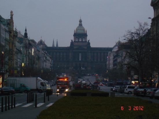 Hotel Beseda Prague : Place Wenceslas
