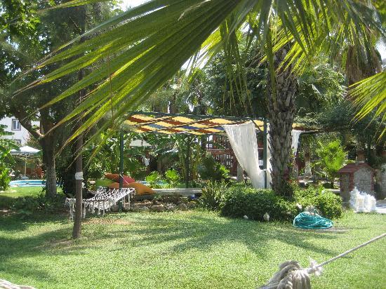 Erendiz Garden Hotel: una parte della parte comune