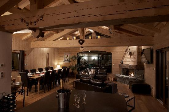 Alpine Highs Chalet Joran: The living area