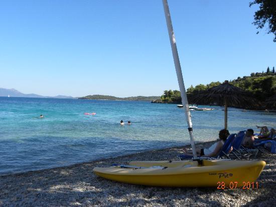 Porto Galini Seaside Resort & Spa: La spiaggia dell'hotel