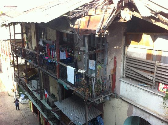 Tantalo Hotel / Kitchen / Roofbar: View from my balcony